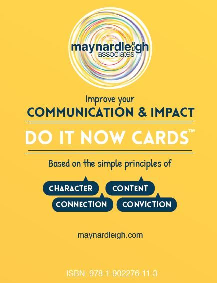Communication & Impact - Do it Now Cards