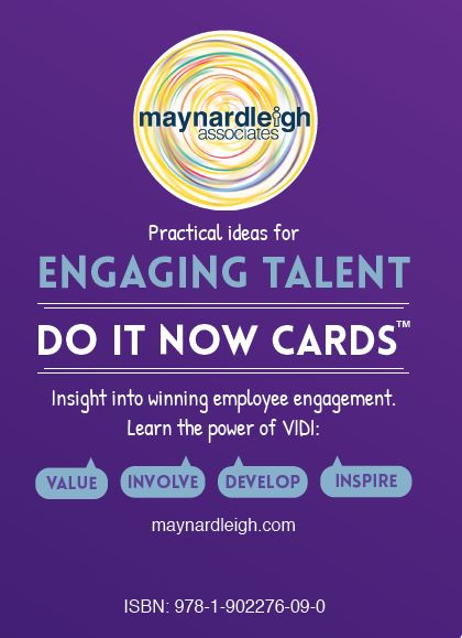 Engaging Talent - Do It Now Cards