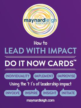 Lead with Impact - Do It Now Cards