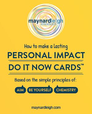 Personal Impact - Do It Now Cards