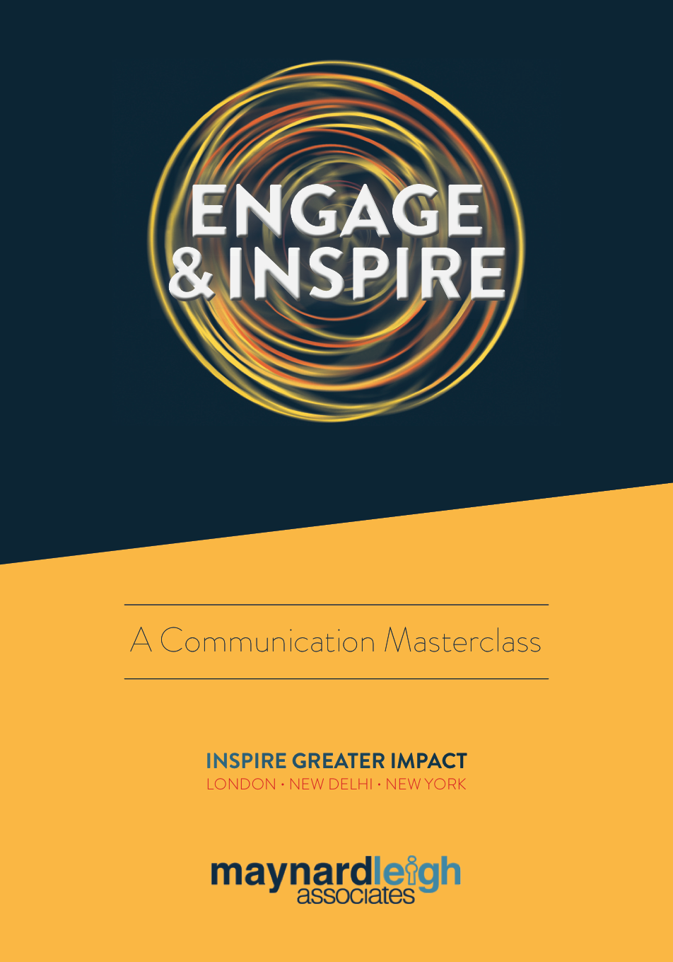Engage and Inspire Brochure