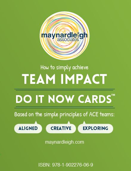 Team Impact - Do It Now Action Cards