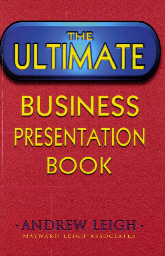 The Ultimate Business Presentation Book